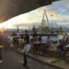 Pre-match party in front of Curva Sud before every home game!